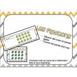 Les fractions