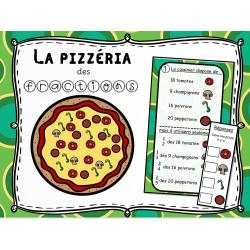 La pizzéria des fractions