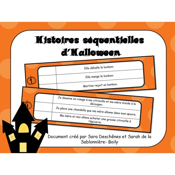 Histoires séquentielles d'Halloween