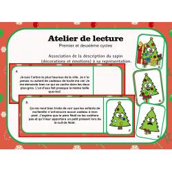Atelier de lecture de Noël - Sapins