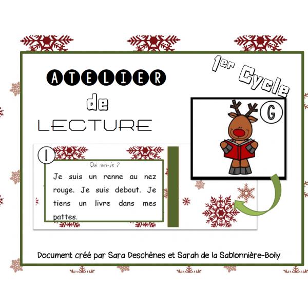 Atelier de lecture de Noël - Rennes