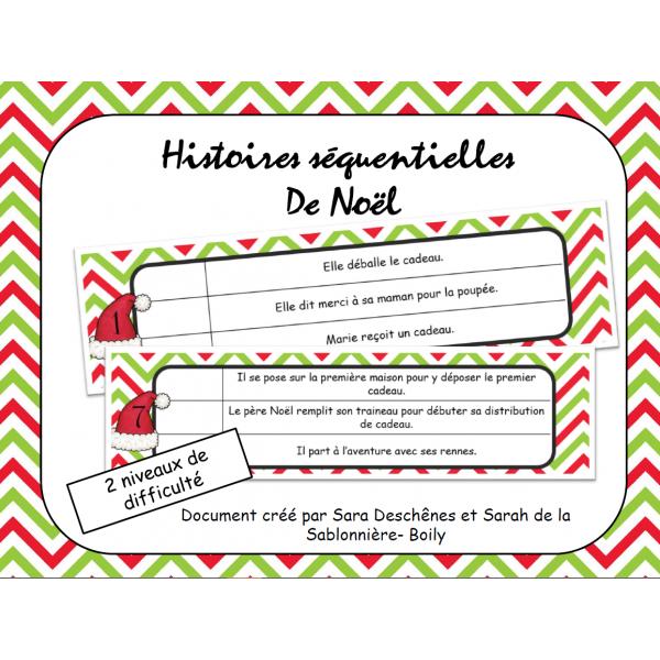Histoires séquentielles de Noël
