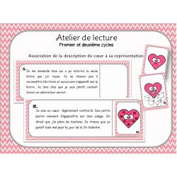 Atelier de lecture- Coeurs
