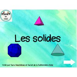 Les solides et relation d'Euler