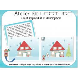 Atelier de lecture d'hiver