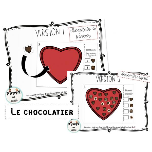 Le chocolatier - Dénombrement