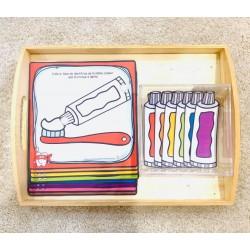 À chaque brosse à dents son tube de dentifrice