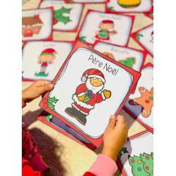 Noël ( 24 mots étiquettes)