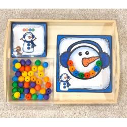 le sourire du bonhomme de neige (suite logique)