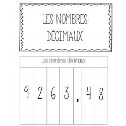 Cahier interactif - Nombres décimaux
