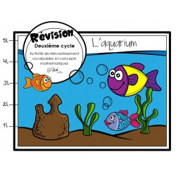 Deuxième cycle - révision (L'aquarium)
