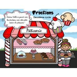 Fractions (2e cycle) - À la pâtisserie