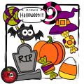 Halloween !!! (35 cliparts)