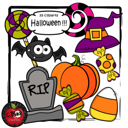 Halloween !!! (35 cliparts)