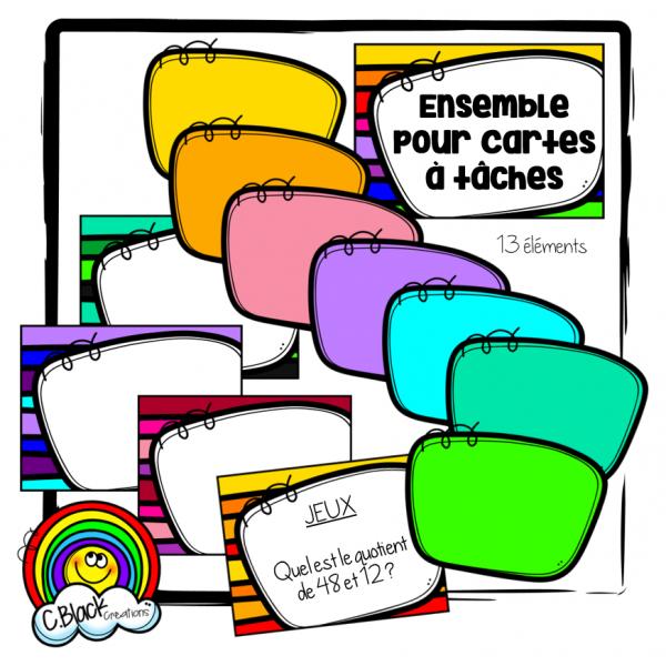 Ensemble pour cartes & étiquettes