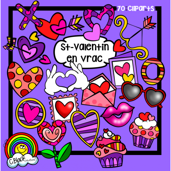 Cliparts en vrac (St-Valentin)