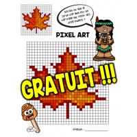 Pixel Art Feuille D Erable