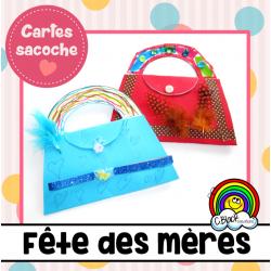 Fête des mères (cartes sacoche)
