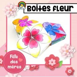 Boîtes-fleur MANDALA