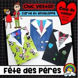 Chic veston (carte fête des pères)