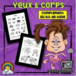 Fabrique de cartoons (yeux et corps)