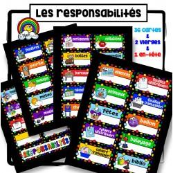 Les responsabilités (39 étiquettes)