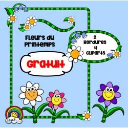 Fleurs du printemps - GRATUIT!