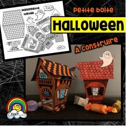 """Boîte d'Halloween """"Maison hantée"""""""