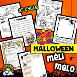 MÉLI MÉLO d'Halloween (5 activités)