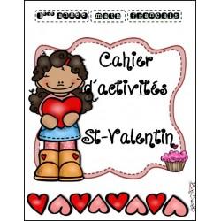 Cahier d'activités St-Valentin