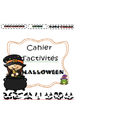 Cahier d'activités Halloween
