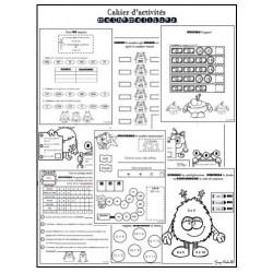 Cahier de mathématiques des monstres