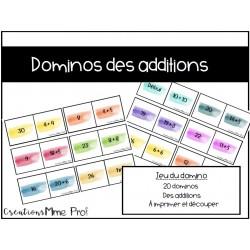 Domino des additions