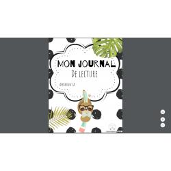 Journal de lecture 2e-3e cycle