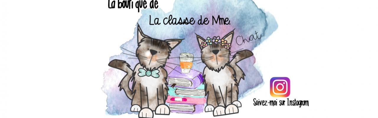 La classe de Mme chat