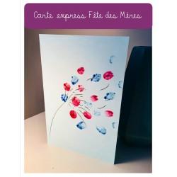 Carte express pour la Fête des Mères