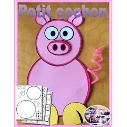 Bricolage -Le petit cochon-
