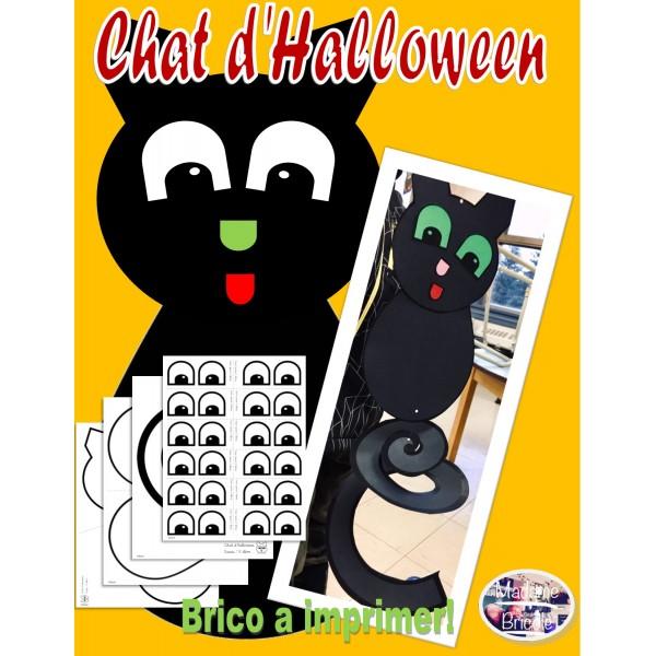 Chat d'Halloween