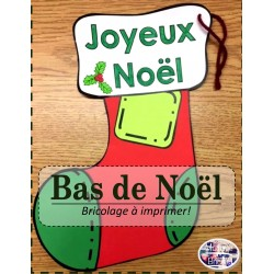 Bas de Noël -Bricolage-