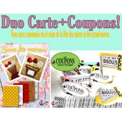 Duo Carte+Coupon Fête des mères!