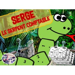 Serge, le serpent comptable