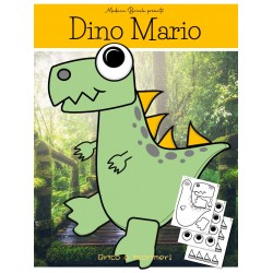 Dino Mario (Bricolage de dinosaure à imprimer)