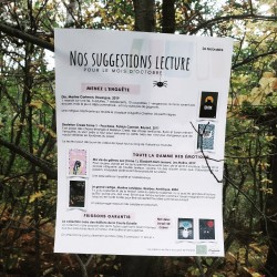 Suggestions lecture - Octobre