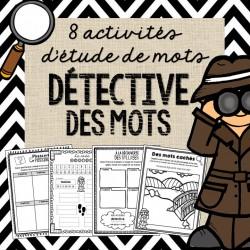 Étude de mots - Soyez un détective