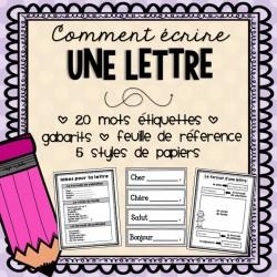 Comment écrire une lettre