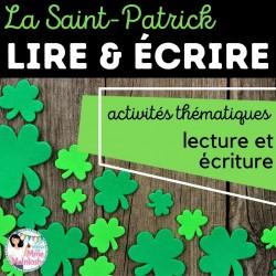 LIRE & ÉCRIRE - La Saint-Patrick