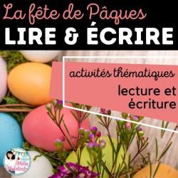 LIRE & ÉCRIRE - La fête de Pâques