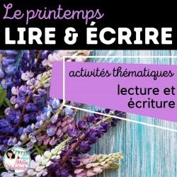 LIRE & ÉCRIRE - Le printemps