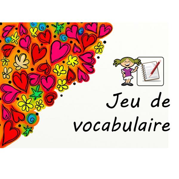 Jeu de vocabulaire