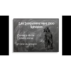 Révision Les Iroquoiens vers 1500
